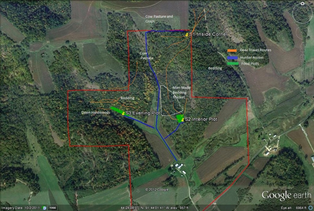 Scouting With Aerial Photos Full Potential Outdoors - Hunting aerial maps